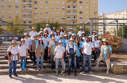 Voluntários na Edição Giro 2017 - Organizado pelo GRACE